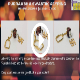Click for video about, Item 70, Rudraksh & Swastik Keyring